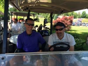 Clint in Cart